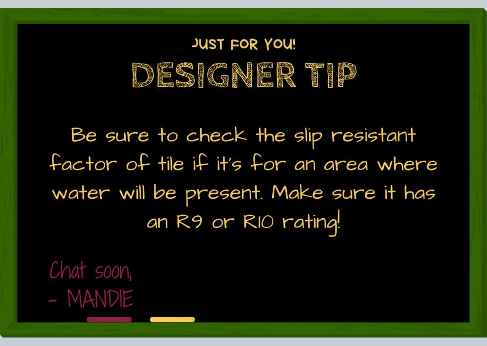 How to Choose Tile Designer Tip | MLR Interior Design