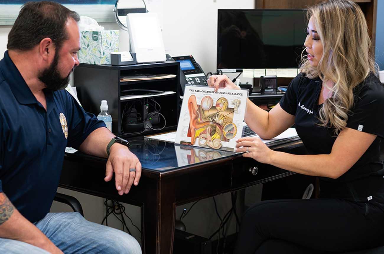 Dr. Spinuzza Ear Consultation