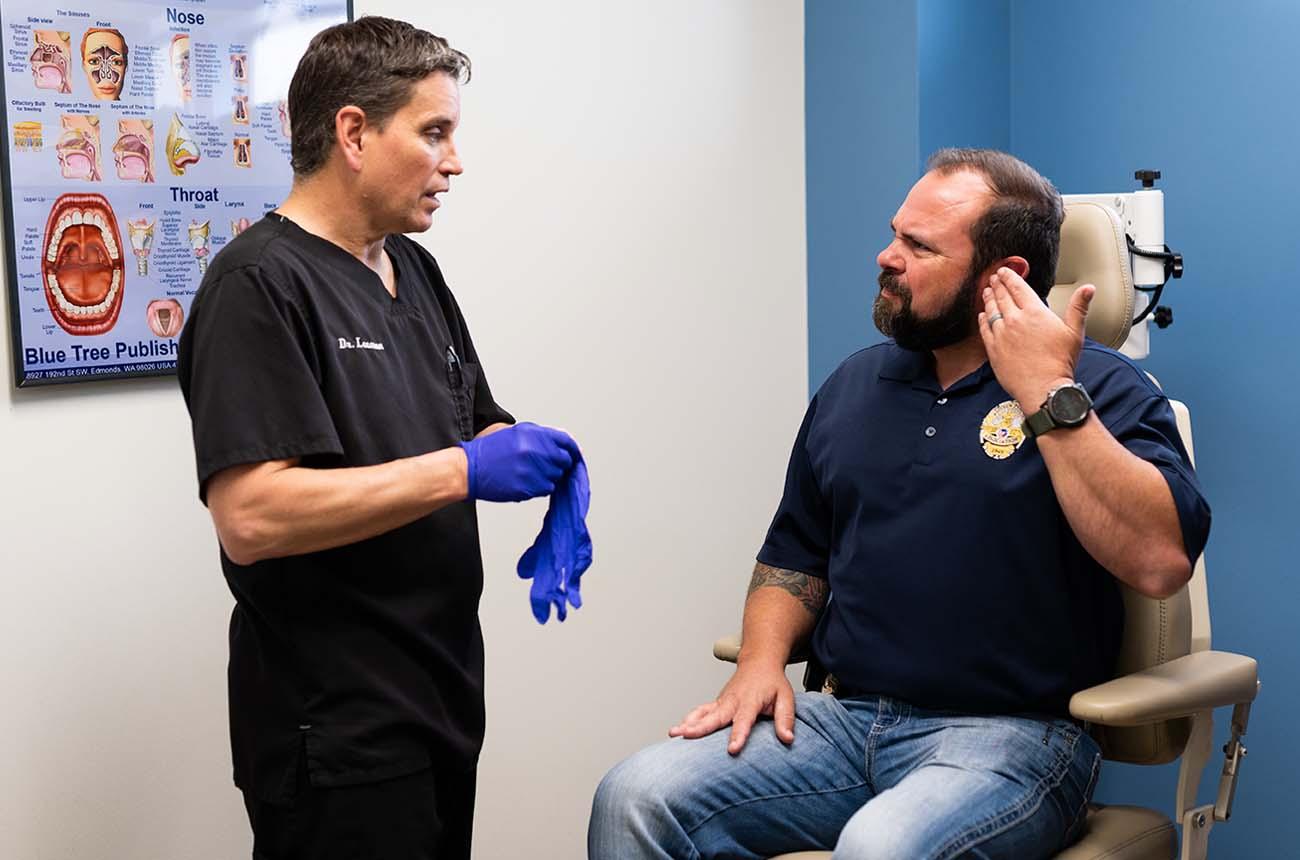 Hearing Loss/Dr. Leeman Hearing Consultation