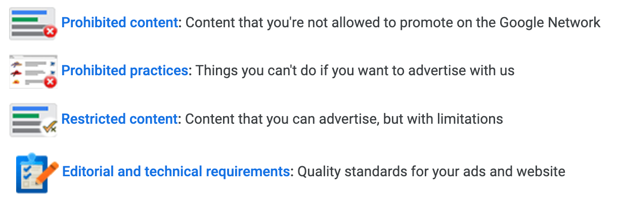 Shopping Ads Policy