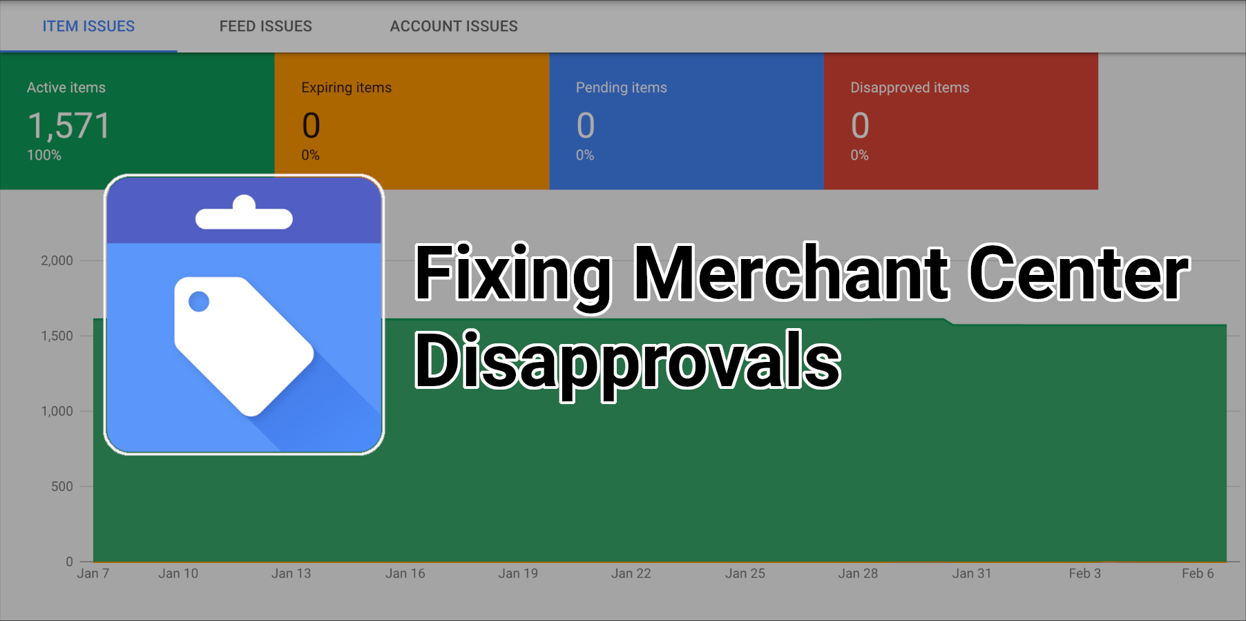 Merchant Center Disapprovals & Simple Ways To Fix