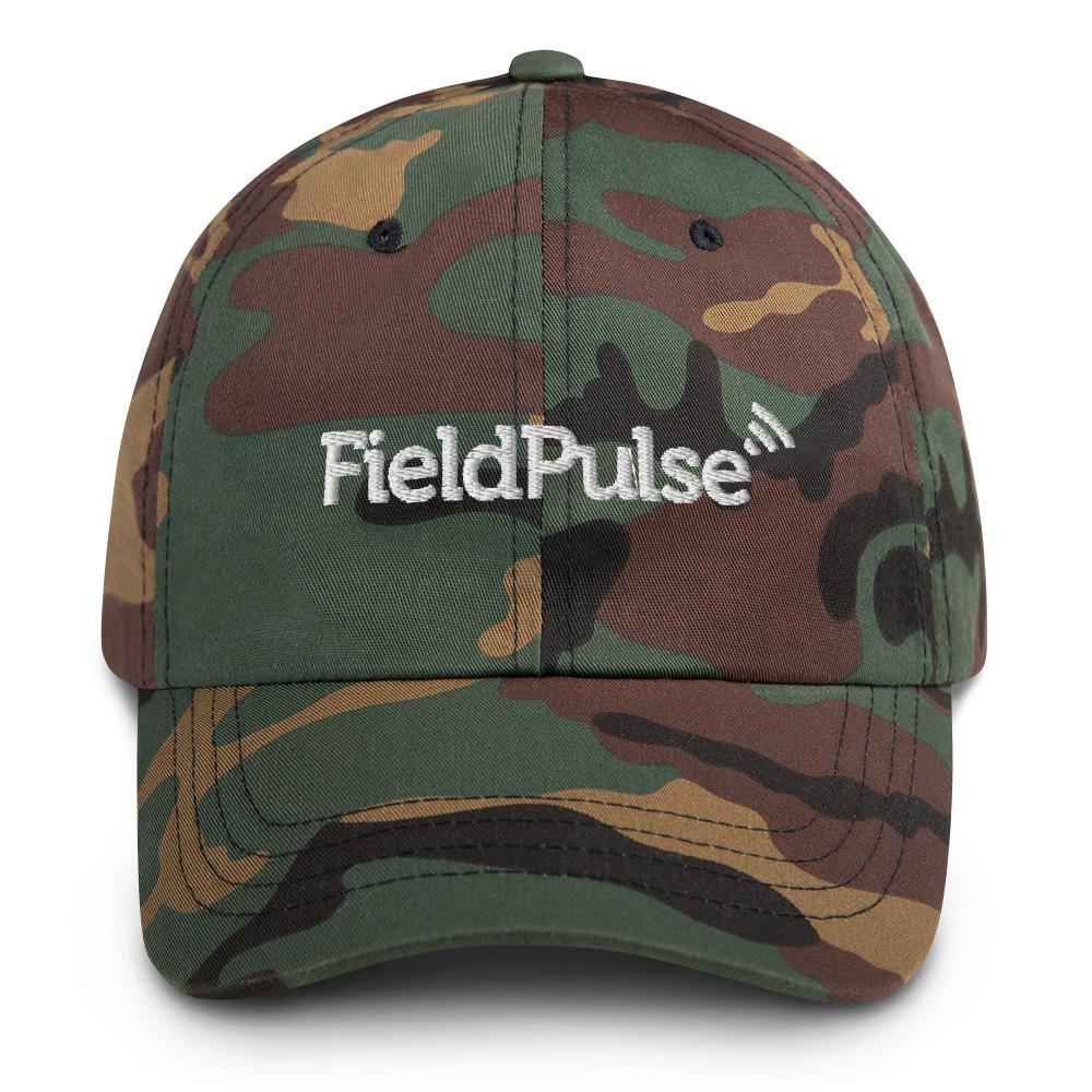 FieldPulse Camo Hat - All White Logo