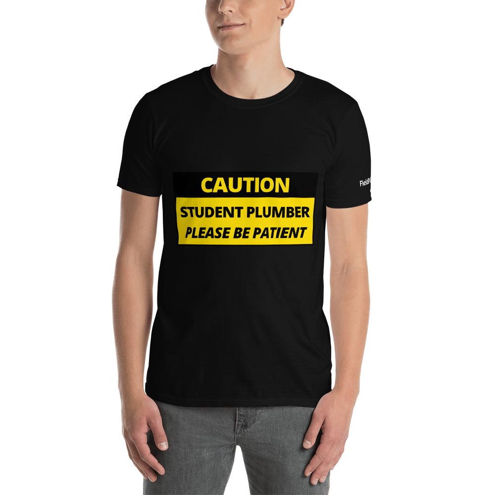 Student Plumber T-Shirt - Apprentice Gift