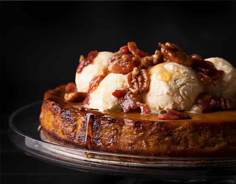 Bacon Pumpkin Pie