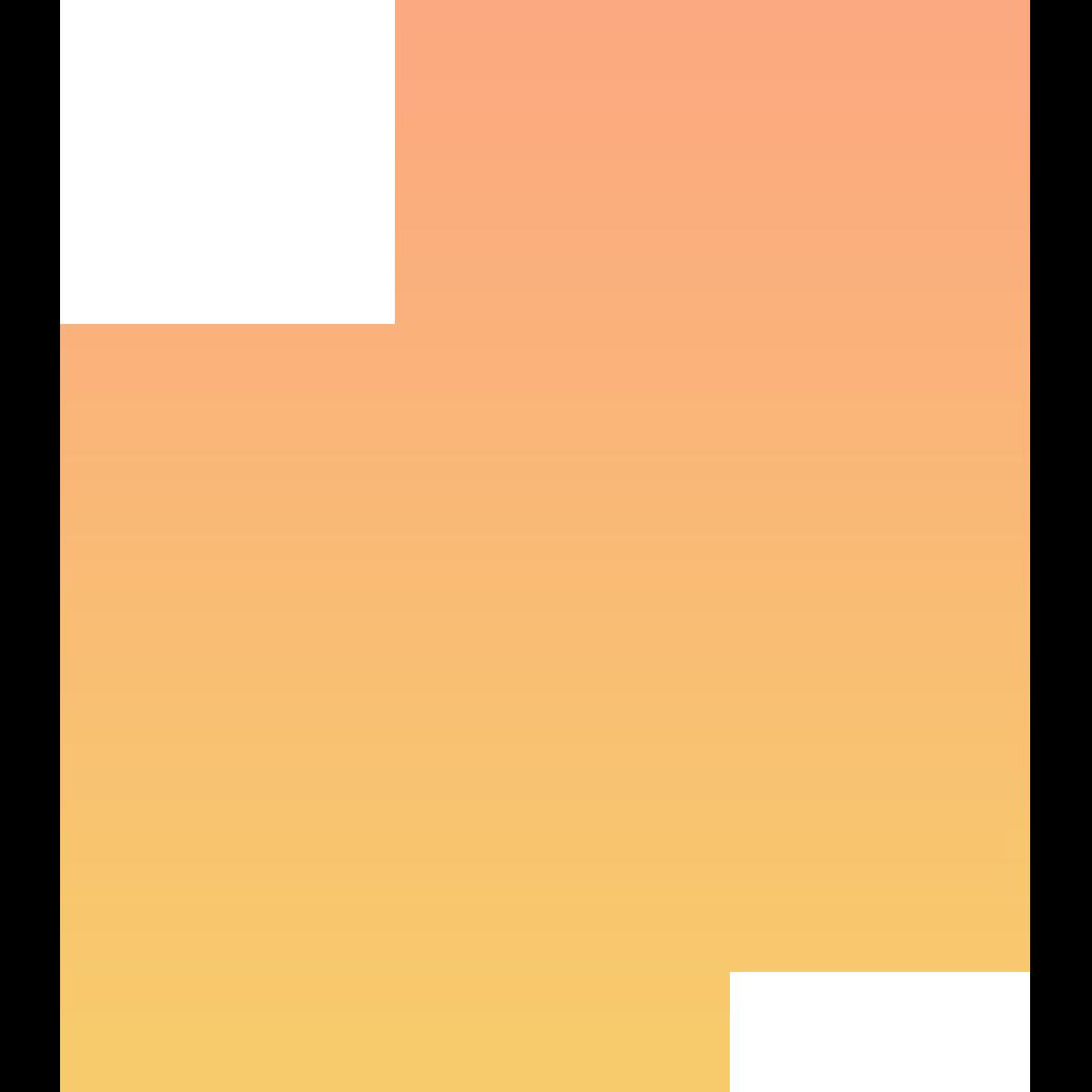 orange tiktok icon