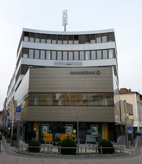 Image of the CPB Europe offfice building in Frankfurt