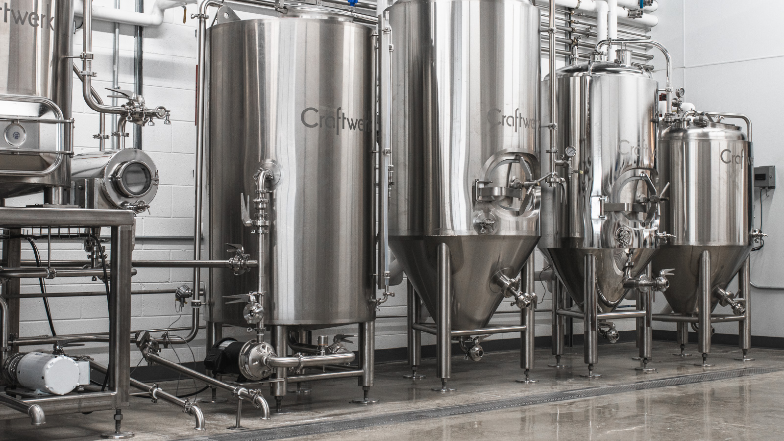 one drop brewing company beer tanks