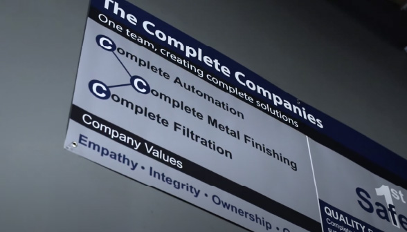 complete metal finishing purpose and values