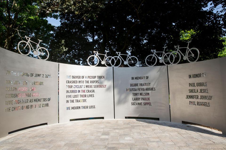 Kalamazoo bike gang memorial