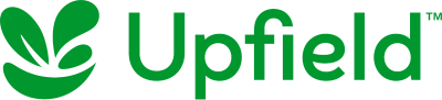Logo for Upfield, a major label and brand in Kenya that has the rescue.co membership to protect its team and facilities from the unexpected