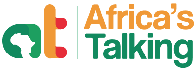 Logo for Africa's Talking - a telco API integrator startup Nairobi Kenya