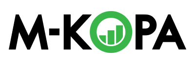 Logo for M-Kopa, M-KOPA - a connected asset financing platform that offers millions of underbanked customers access to life-enhancing products & services in Kenya