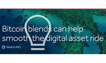 Bitcoin blends can help smooth the digital asset ride