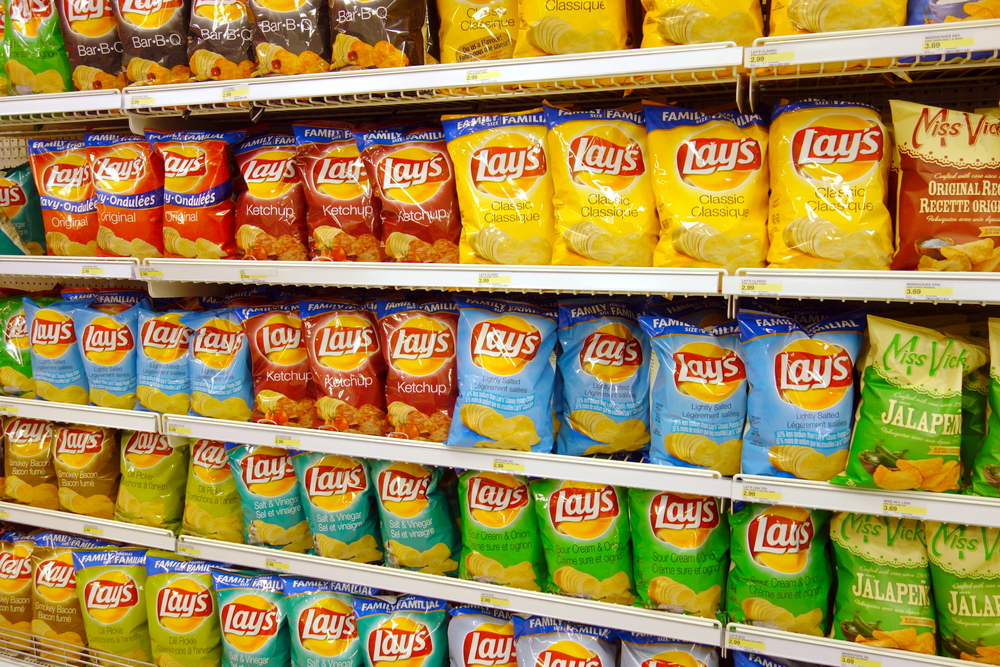 Chips aisle