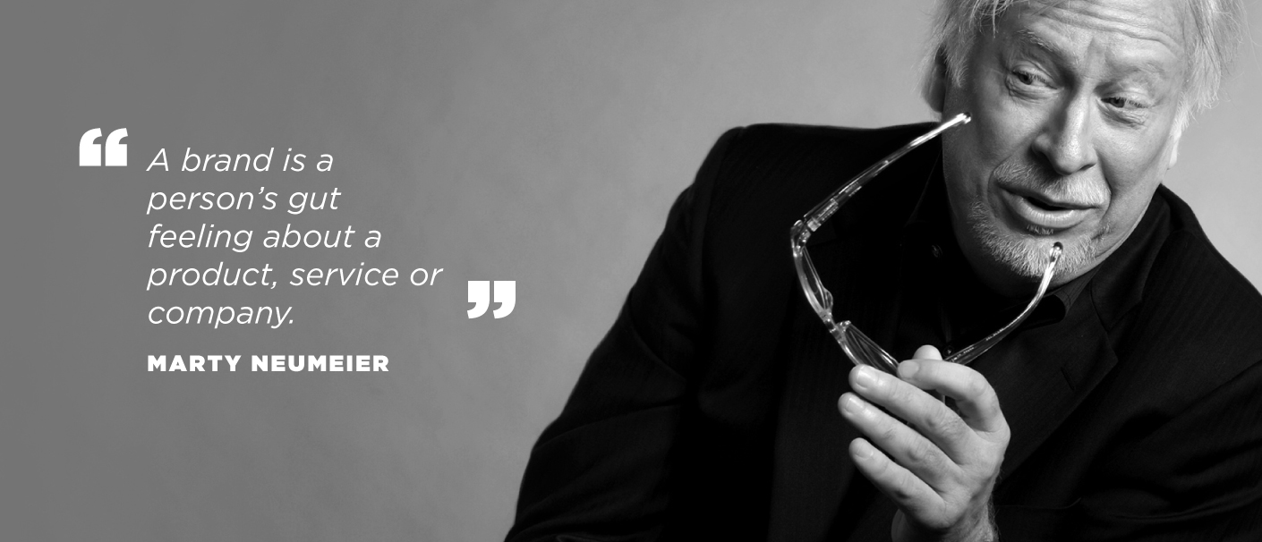 Marty Neumeier Quote