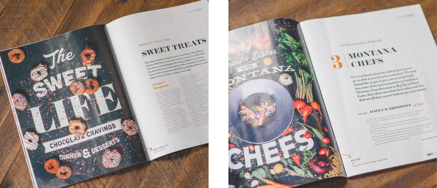 Edible Montana Magazine images