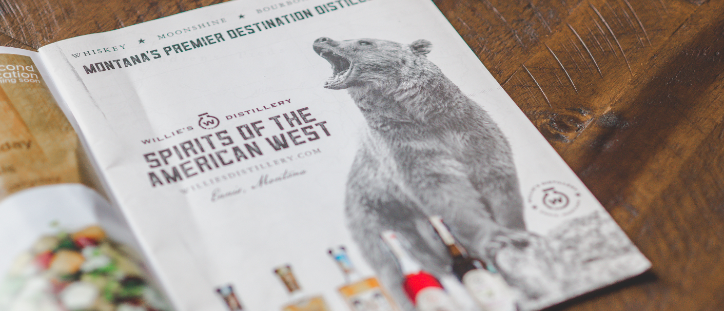 Willie's Magazine Ad