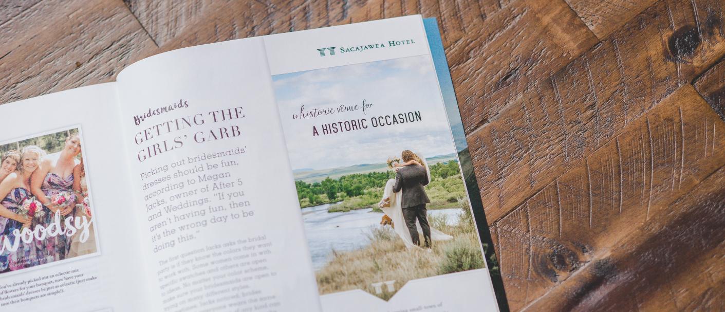 Sacajawea Hotel Magazine Ad