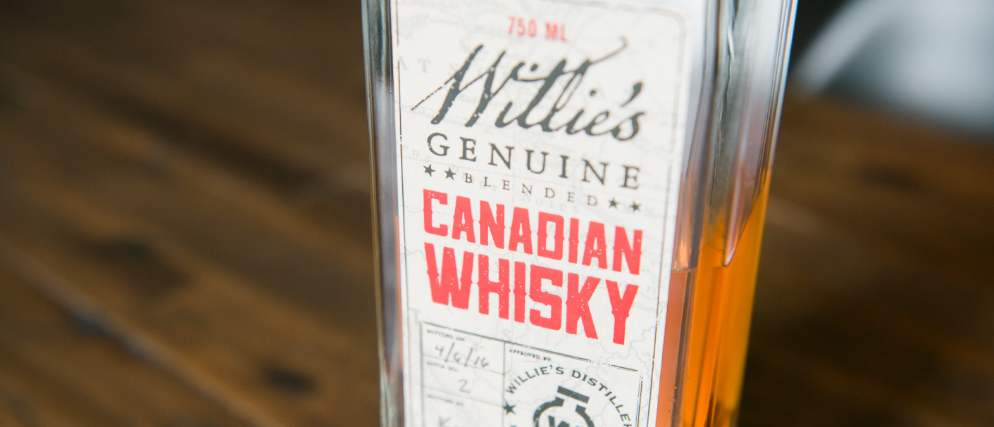 Willie's Canadian Whisky