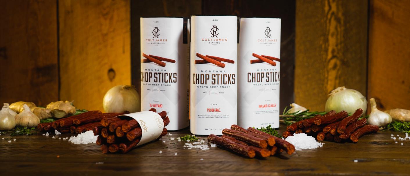 Colt James Chop Sticks Beef Snack