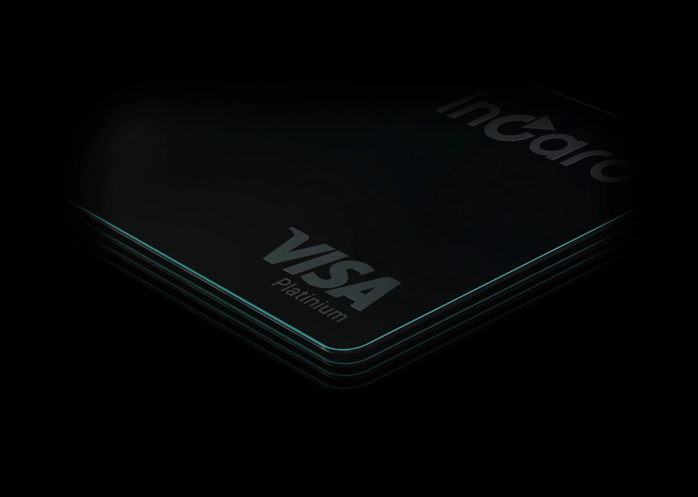 incard Platinium Visa card