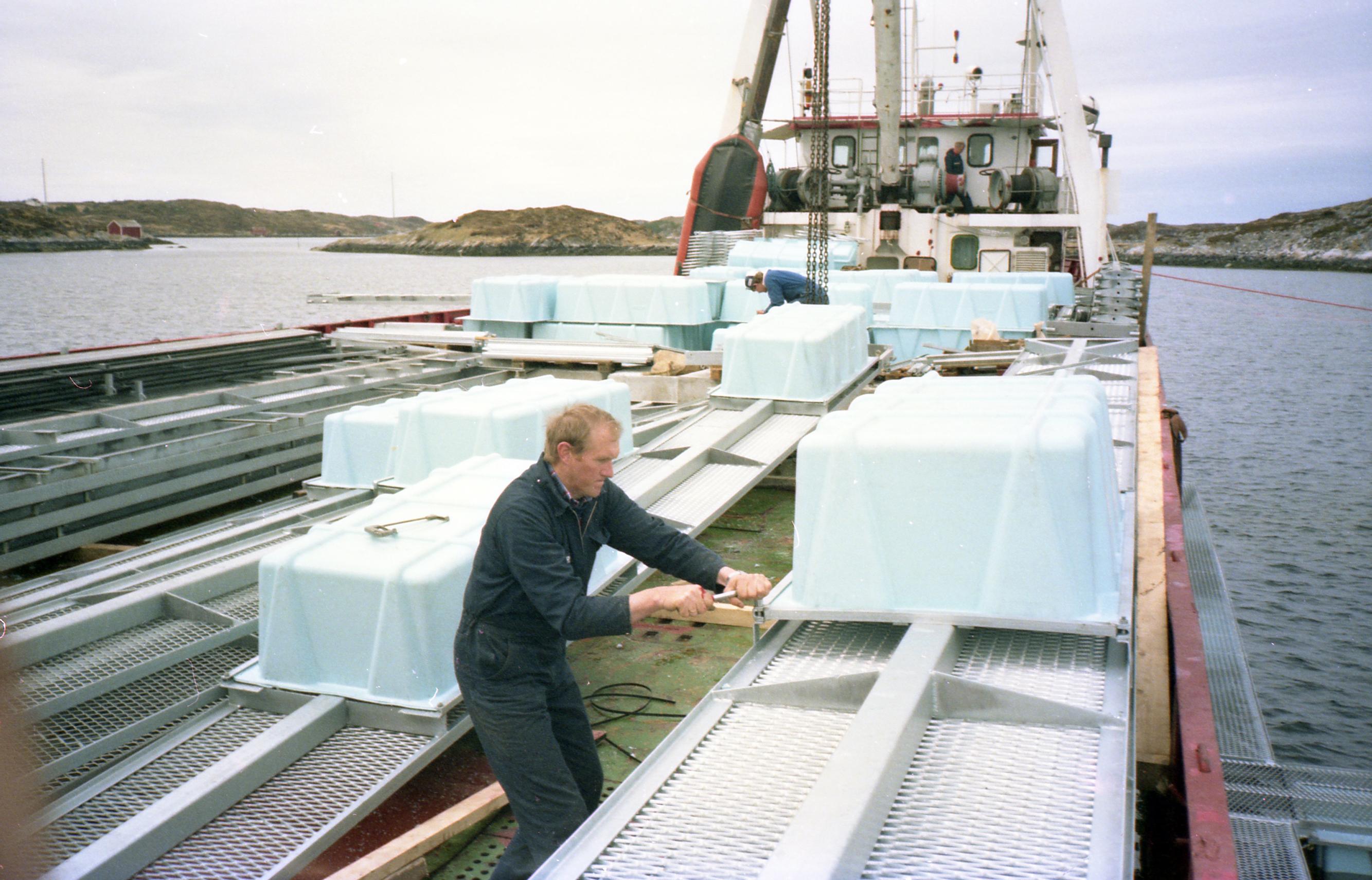 The very first Måsøval pioneers
