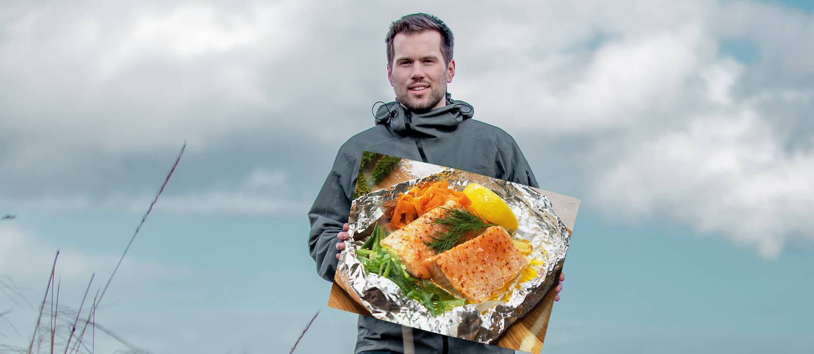 Salmon al fresco