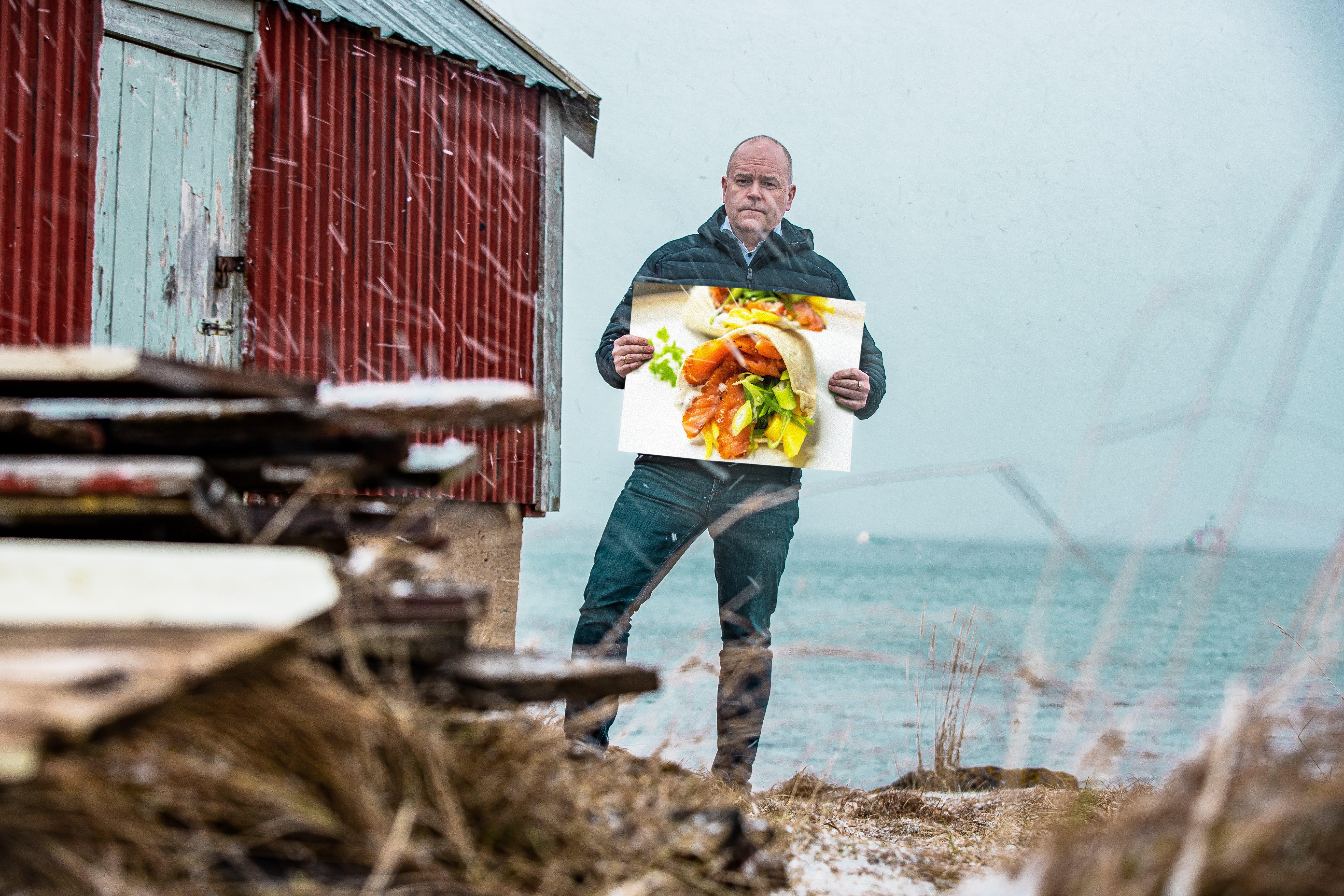Salmon Wrap / Trail Food