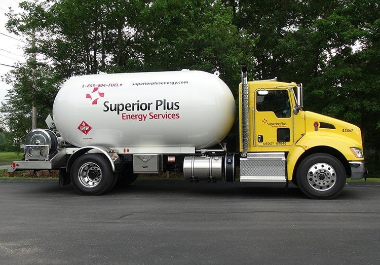 Superior Plus Energy Services truck
