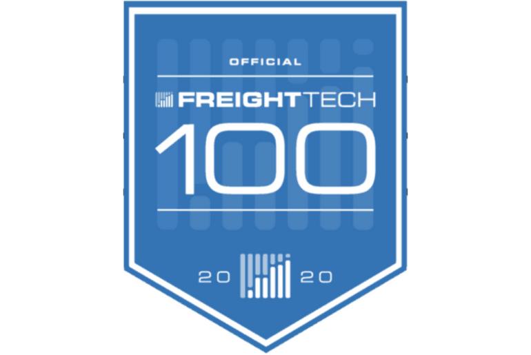 Official Freight Tech 100 badge