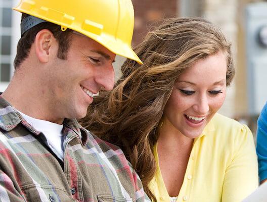 construction couple