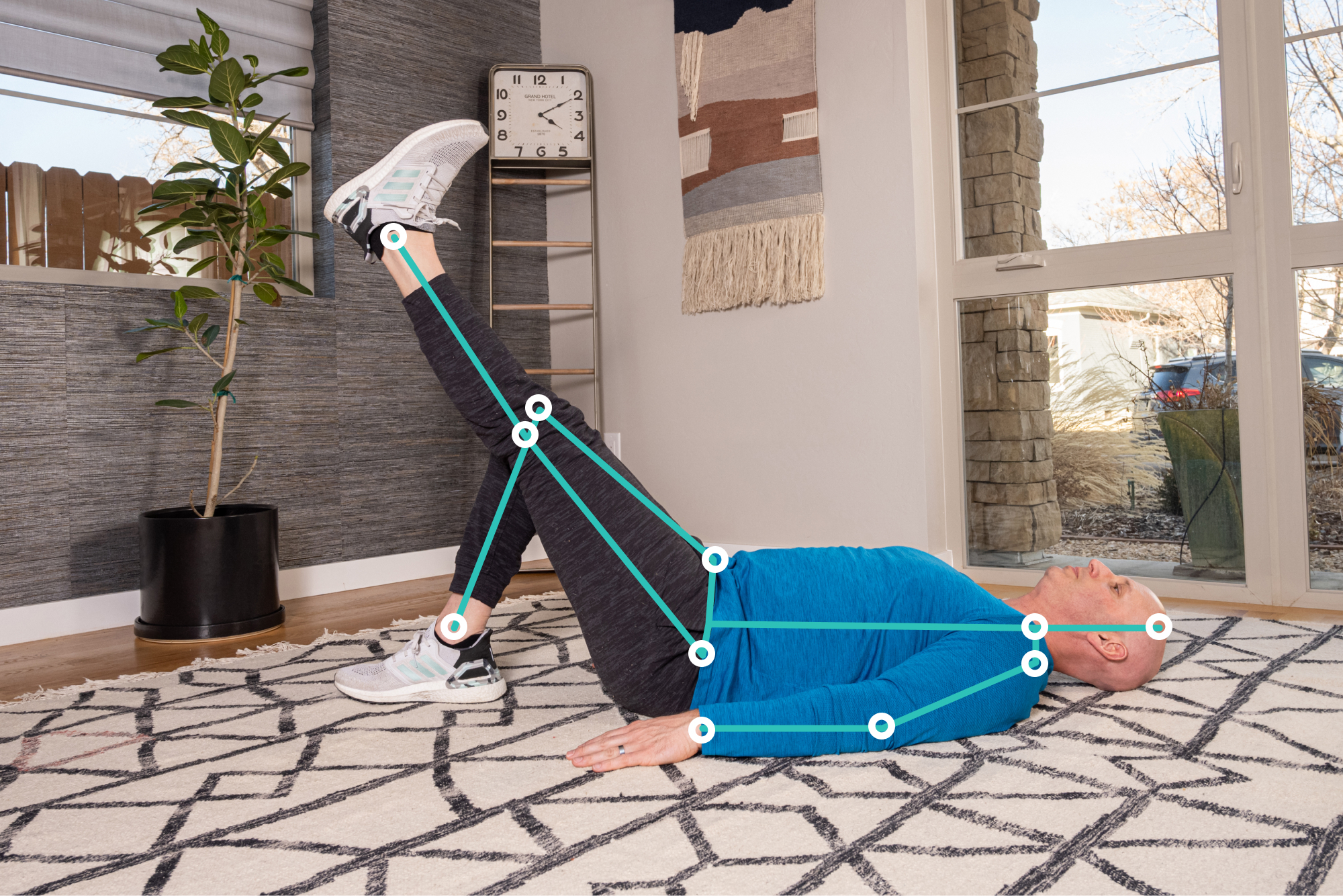 Exer Physio is a digital physical therapy app that uses AI to measure home exercise protocols and range of motion.