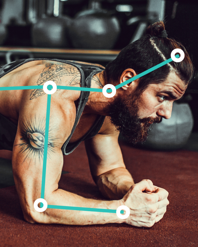 Exer Perfect Plank is an iPhone app for measuring plank form, personal bests, and progress against your community using AI.