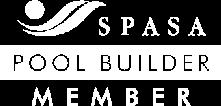 SPASA Pool Builder Member Logo