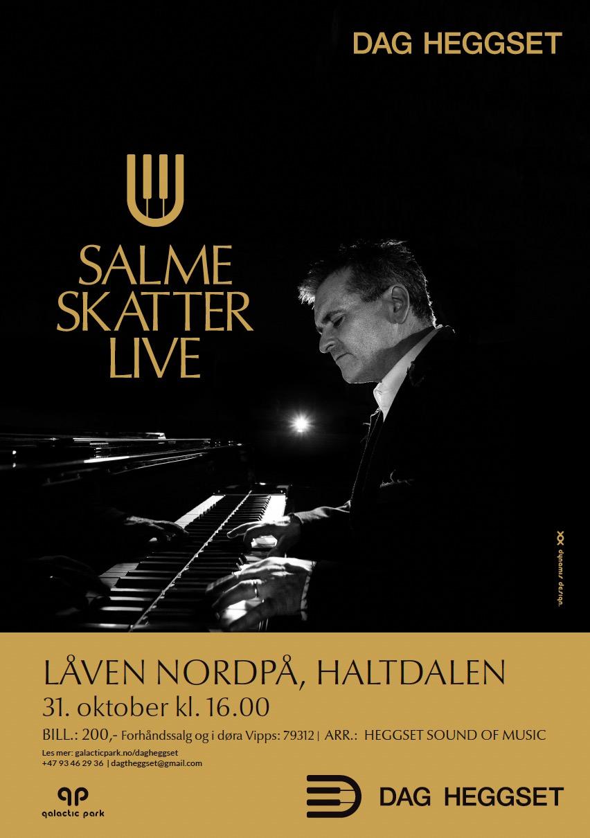 Salmeskatter Live med Dag Heggset