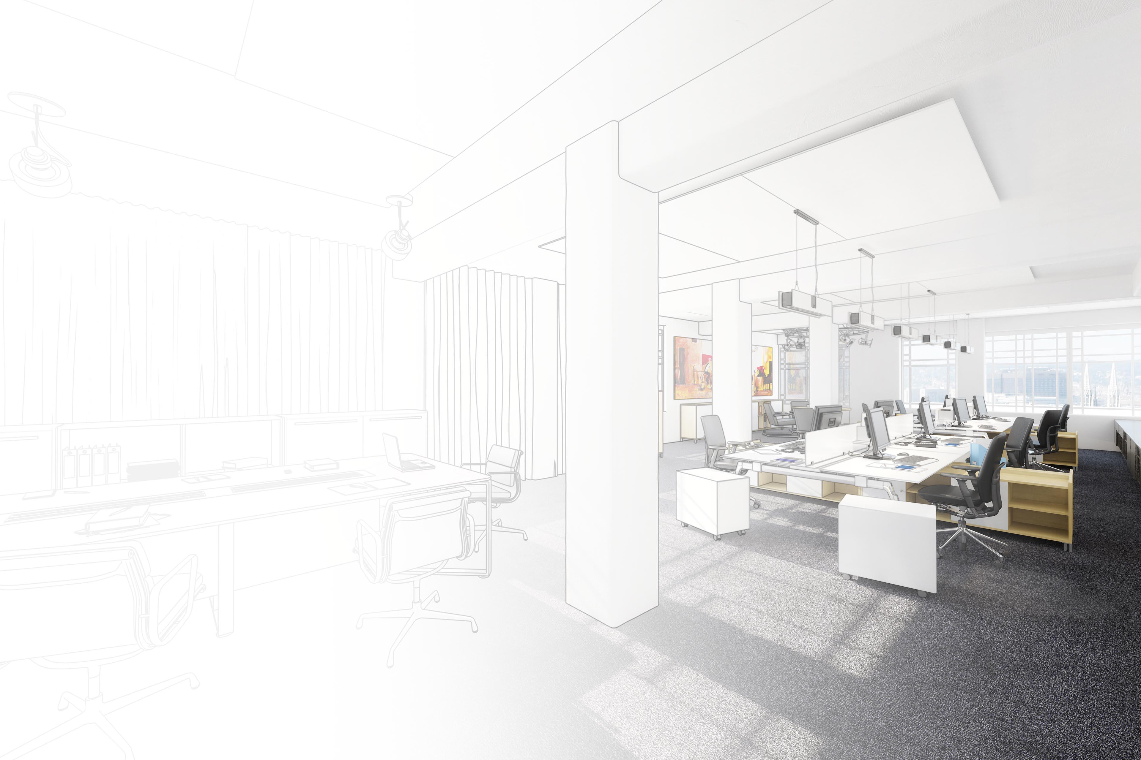 wermke bürokonzepte | Konzeptzeichnung