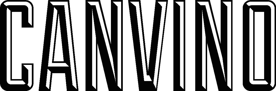Canvino logo black