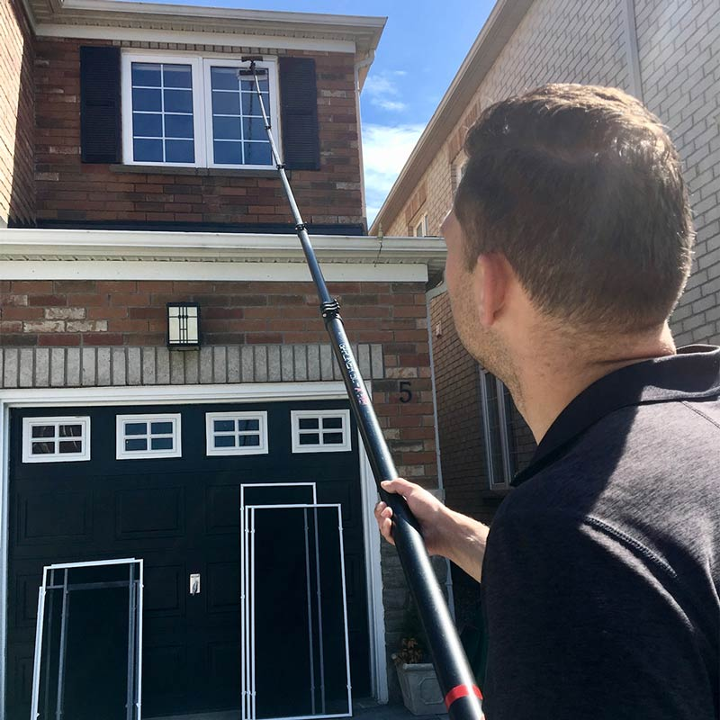 Residential window cleaning in Markham, ON