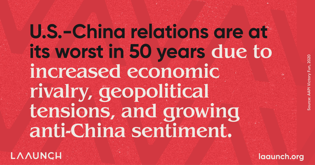 U.S.-China relations are at its worst in 50 years due to increased economic rivalry, geopolitical tensions, and growing anti-China sentiment.