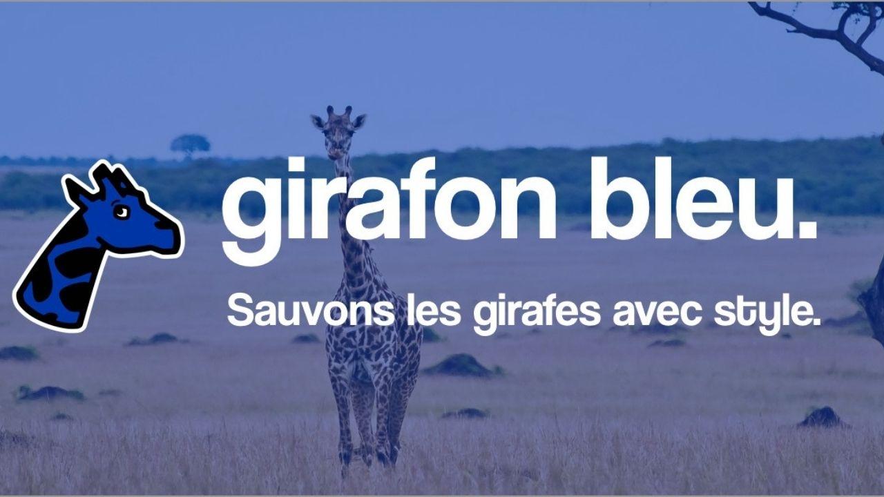 Silvr - Girafon Bleu