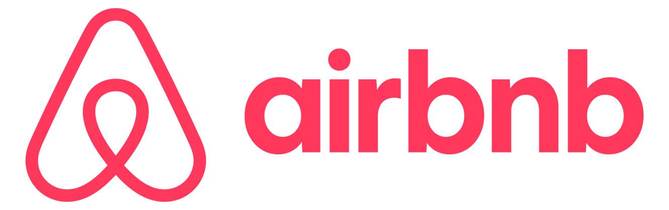 Airbnb red logo