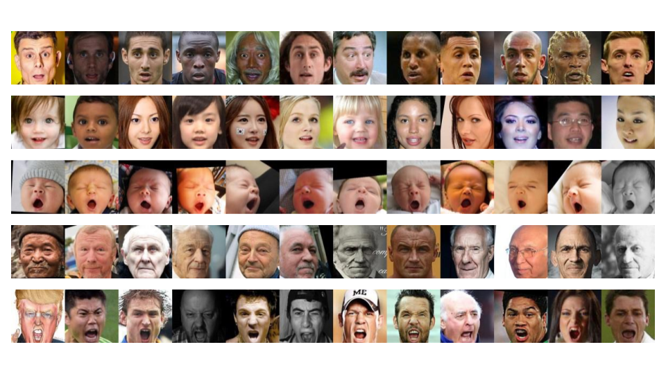 computer vision by Mobius Labs identifies facial expressions
