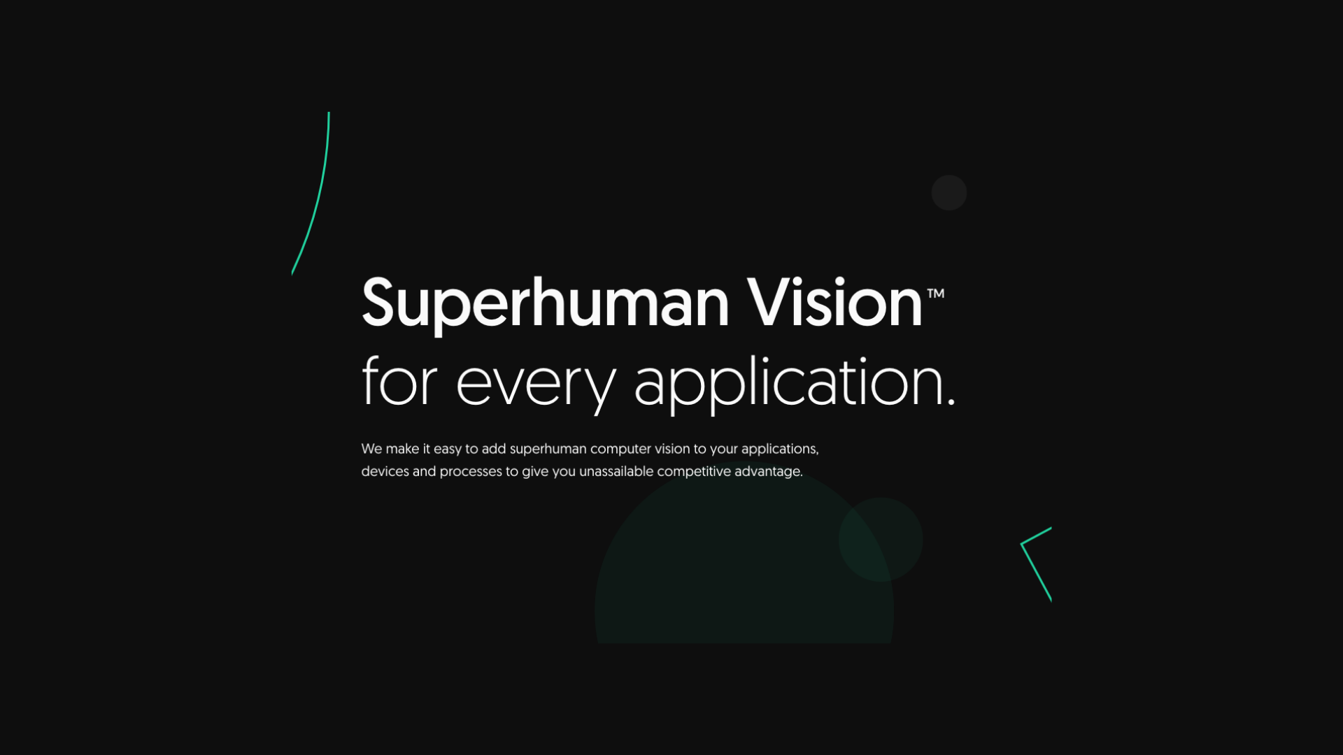 A New Generation of Computer Vision Is Here: Meet Superhuman Vision™