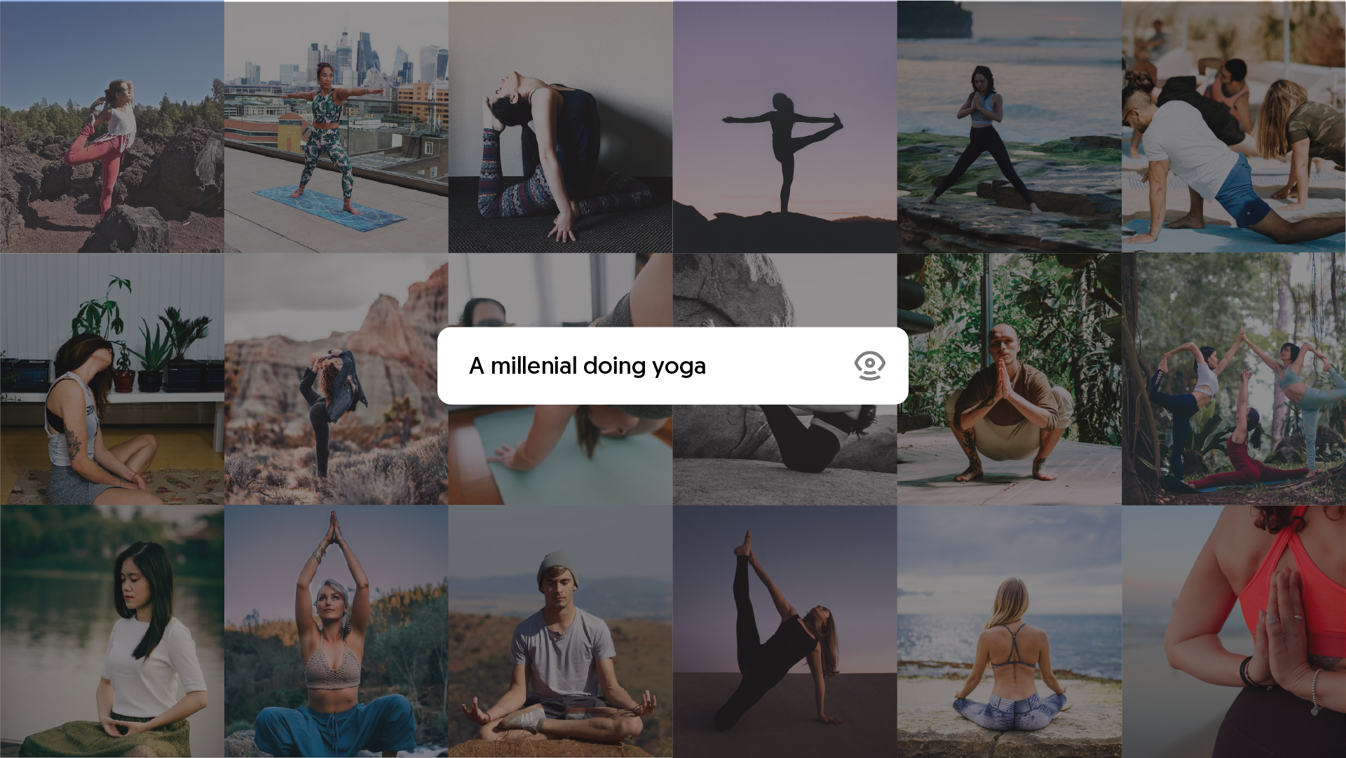 Millenial doing yoga | Visual search solution | Mobius Labs