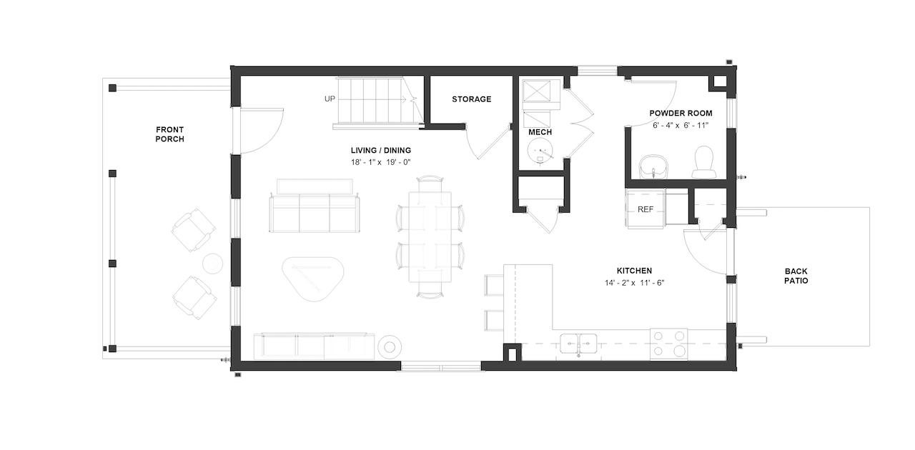 Passavant Floor Plan