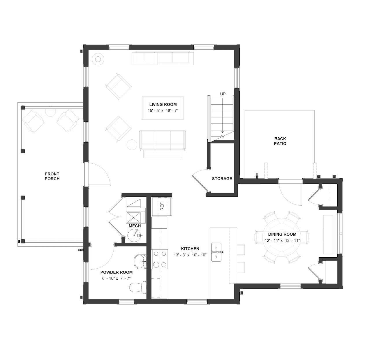 Basse Floor Plan