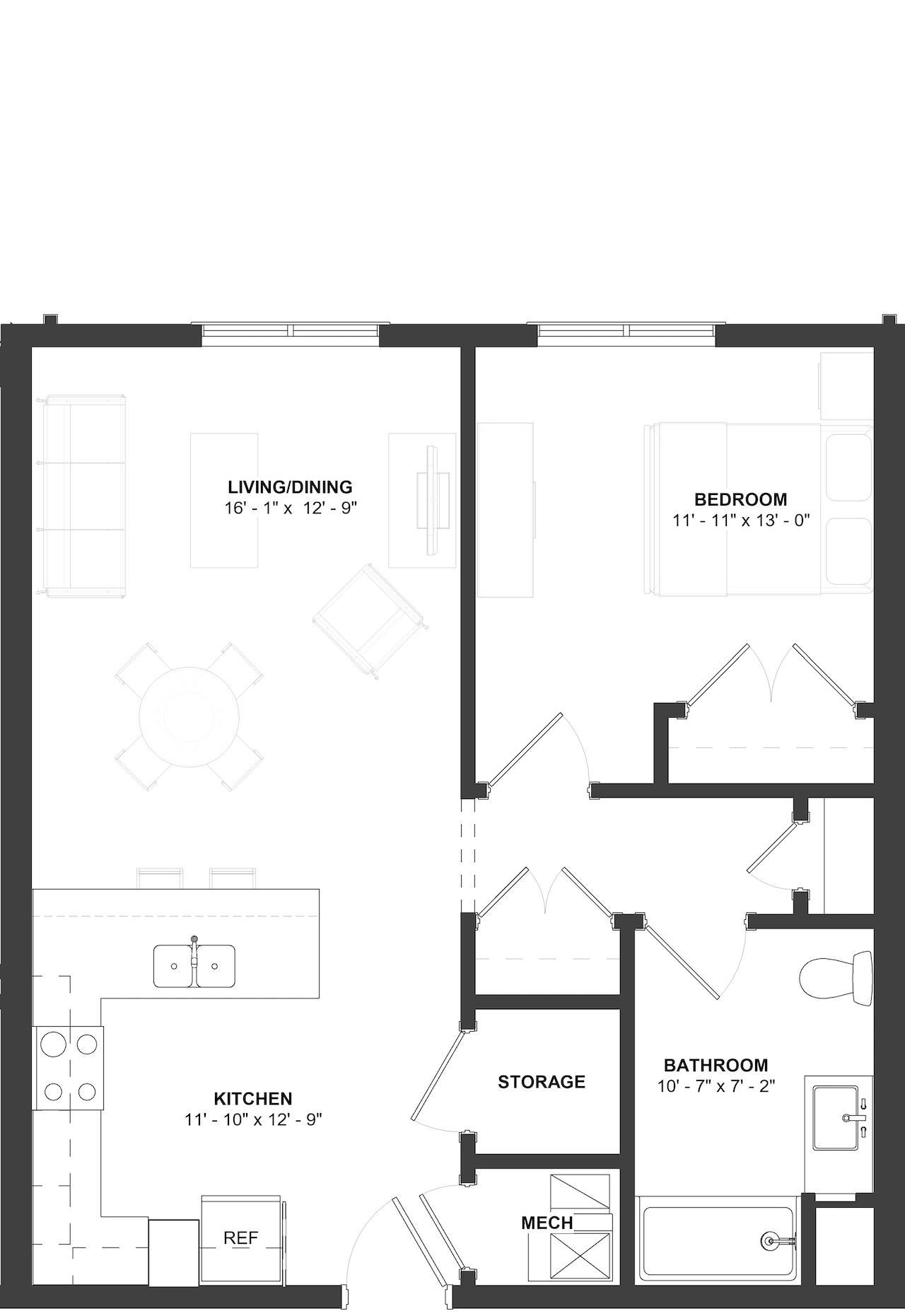 Ziegler Floor Plan