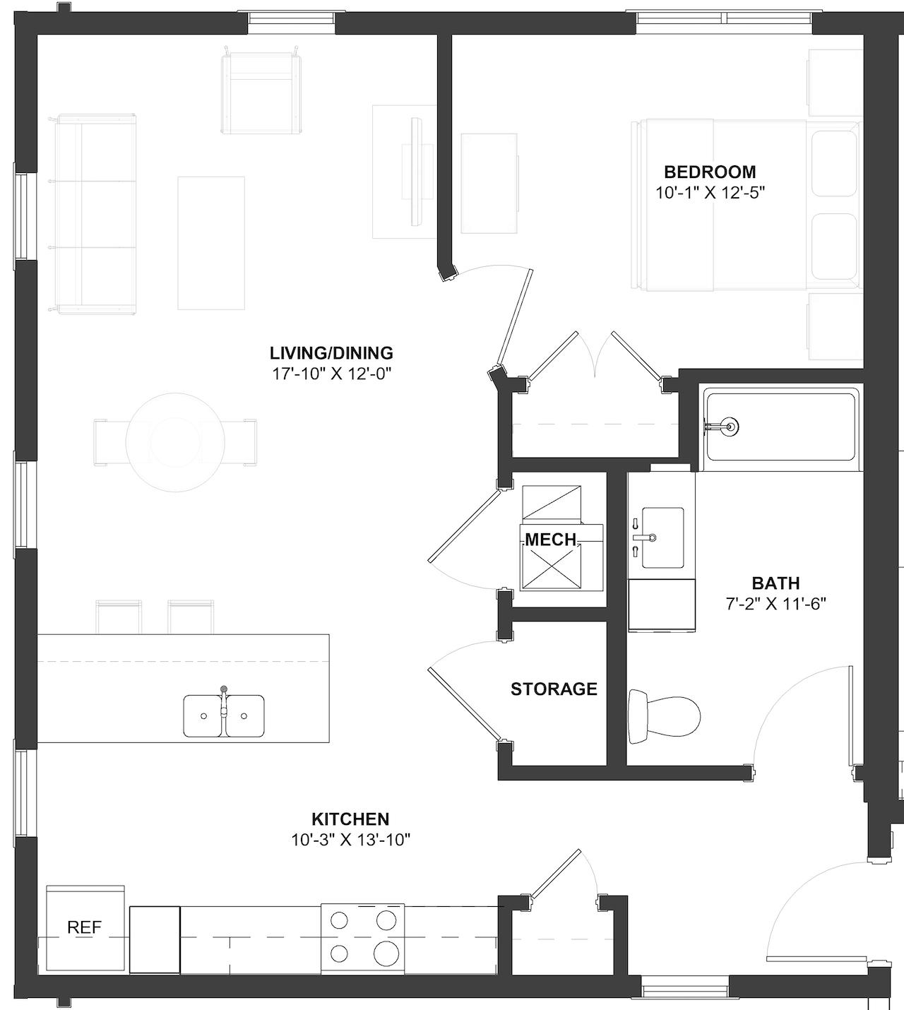 Muntz Floor Plan