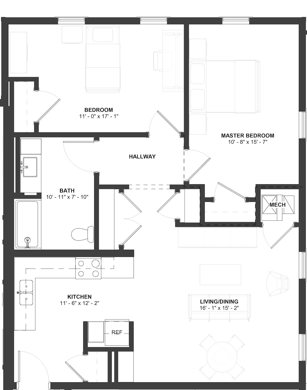 Allen Floor Plan