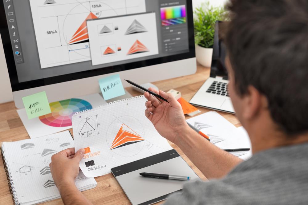 Dizaineris darbo vietoje